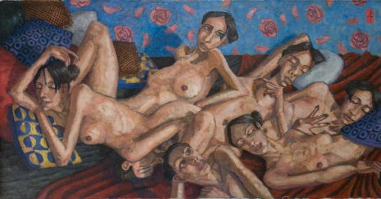 The Beauty of Pleasure -Oil on Canvas