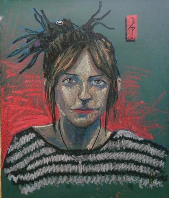 Jess Chalk portrait
