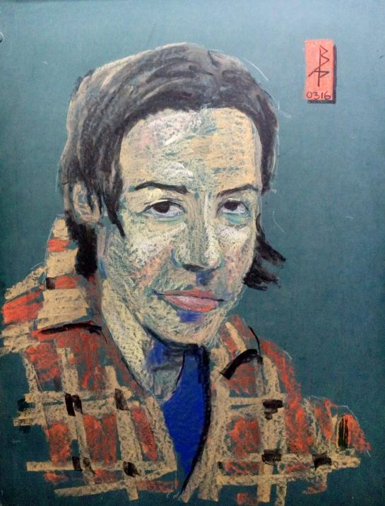 Kat Chalk portrait